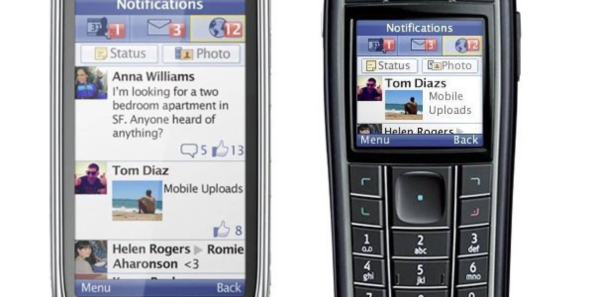 Facebook estará disponible en Argentina para utilizarse desde cualquier celular