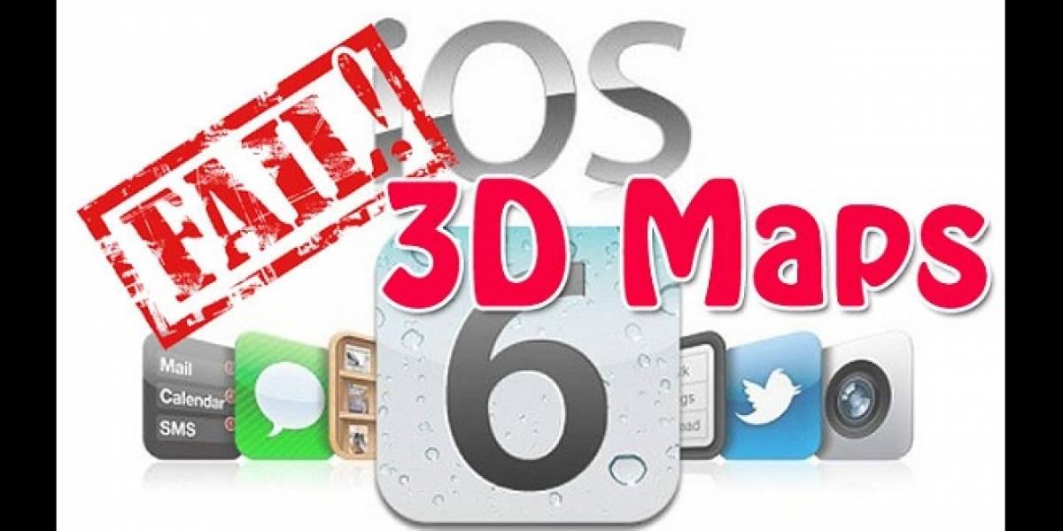 Tim Cook pide disculpas por los nuevos mapas de Apple en iOS 6