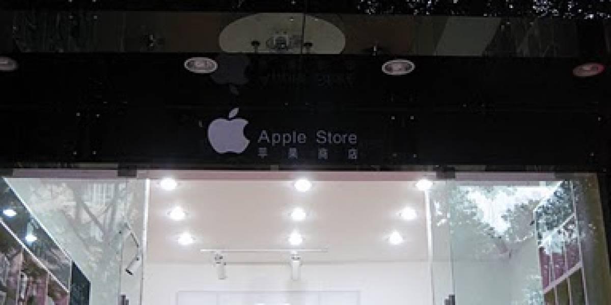 Ciudad china ordena el cierre de dos tiendas falsas de Apple