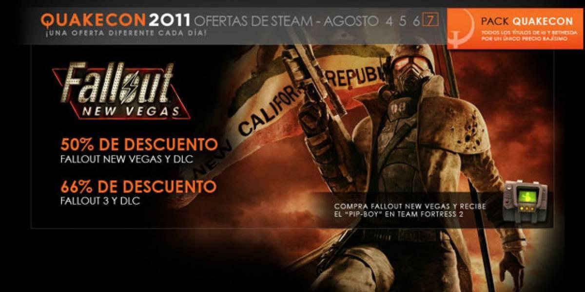 Último día de rebajas en Steam tiene a Fallout como estrella [QuakeCon 11]
