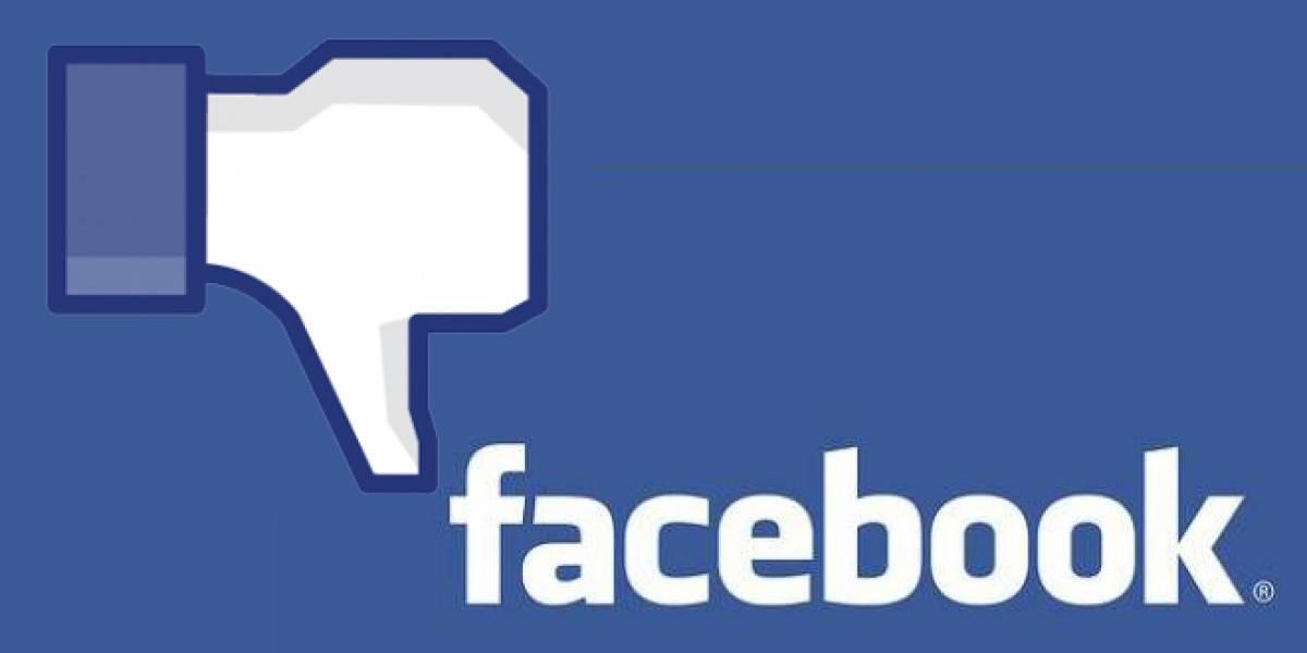 Borrar una aplicación en Facebook no elimina los datos del usuario