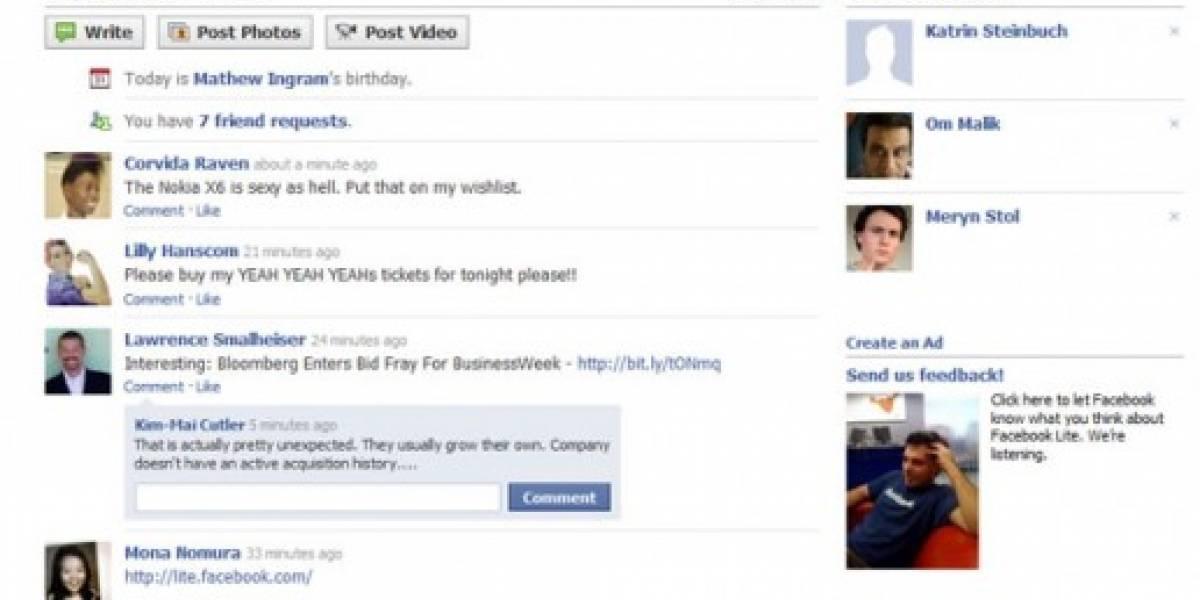 Un tornado revoluciona Facebook