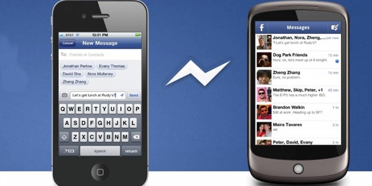 Facebook permite que la gente use su aplicación de chat sin tener una cuenta
