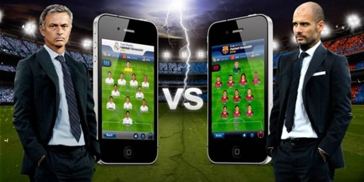 Juega el clásico español con las apps de Fantasy Manager del Madrid o Barça