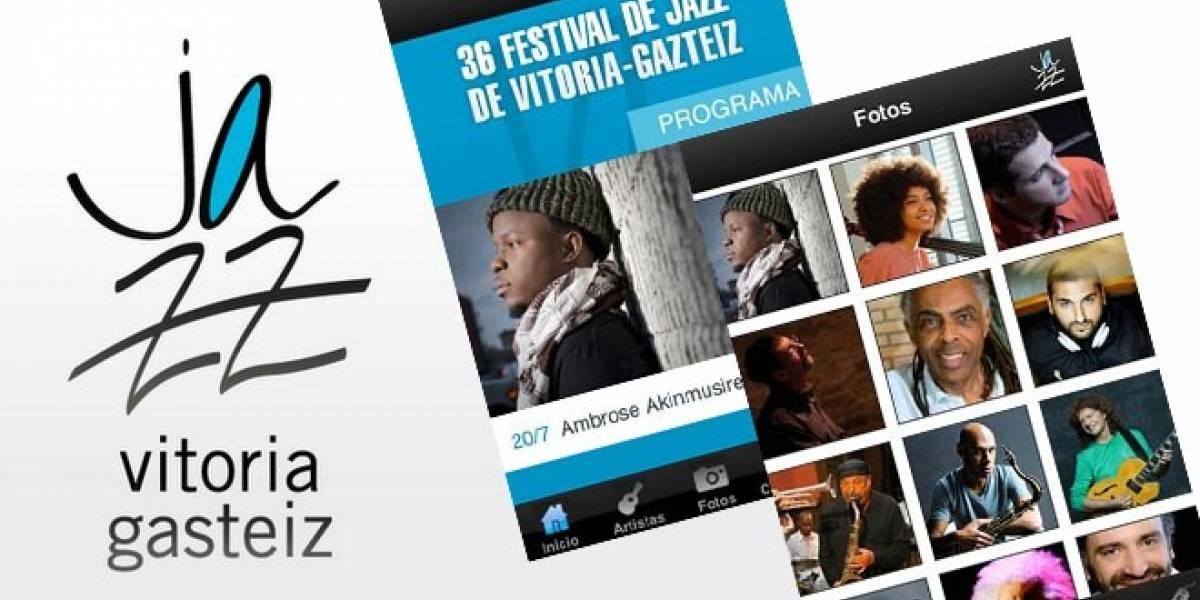 España: El Festival de Jazz de Vitoria ya tiene su aplicación móvil