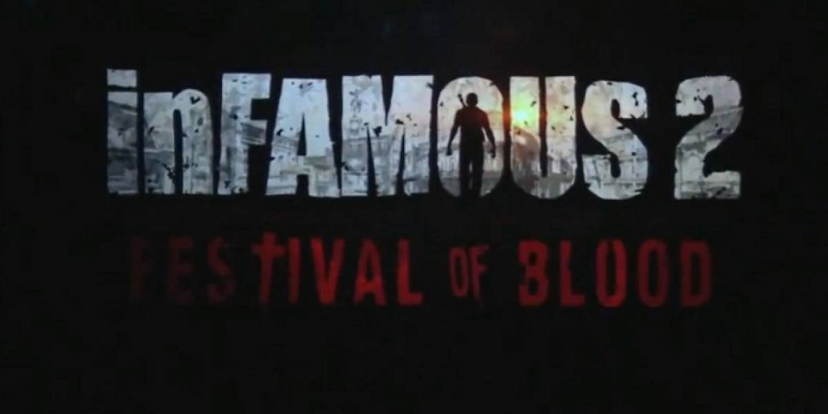 inFamous 2: Festival of Blood es Cole MacGrath y vampiros [gamescom 11]