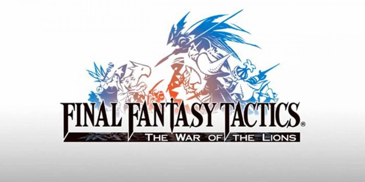 Mañana se lanza Final Fantasy Tactics: The War of the Lions para iPhone