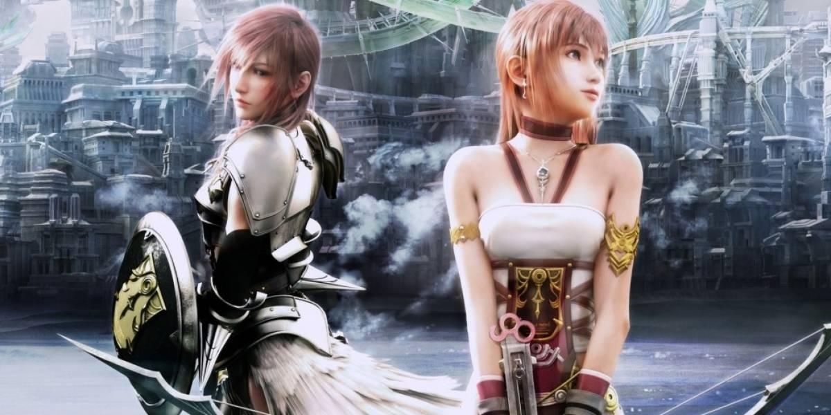 Final Fantasy XIII-2 llegará a Xbox 360 en un solo disco