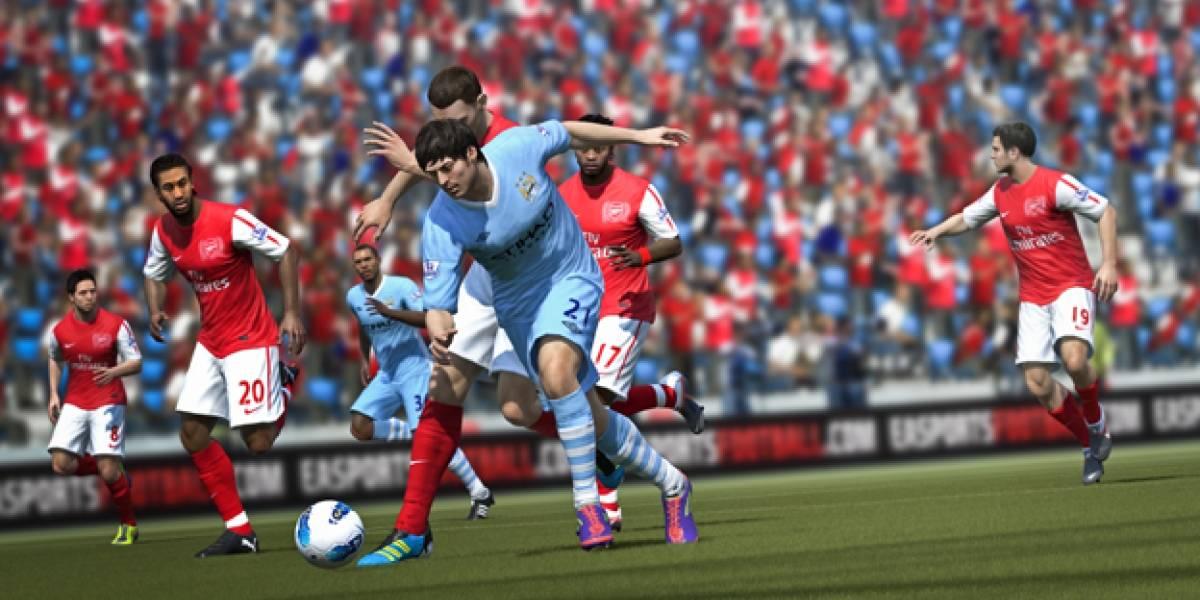 Chequen el trato que le da FIFA 12 al Manchester City