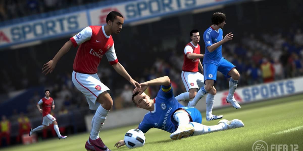 Así luce el Impact Engine de FIFA 12
