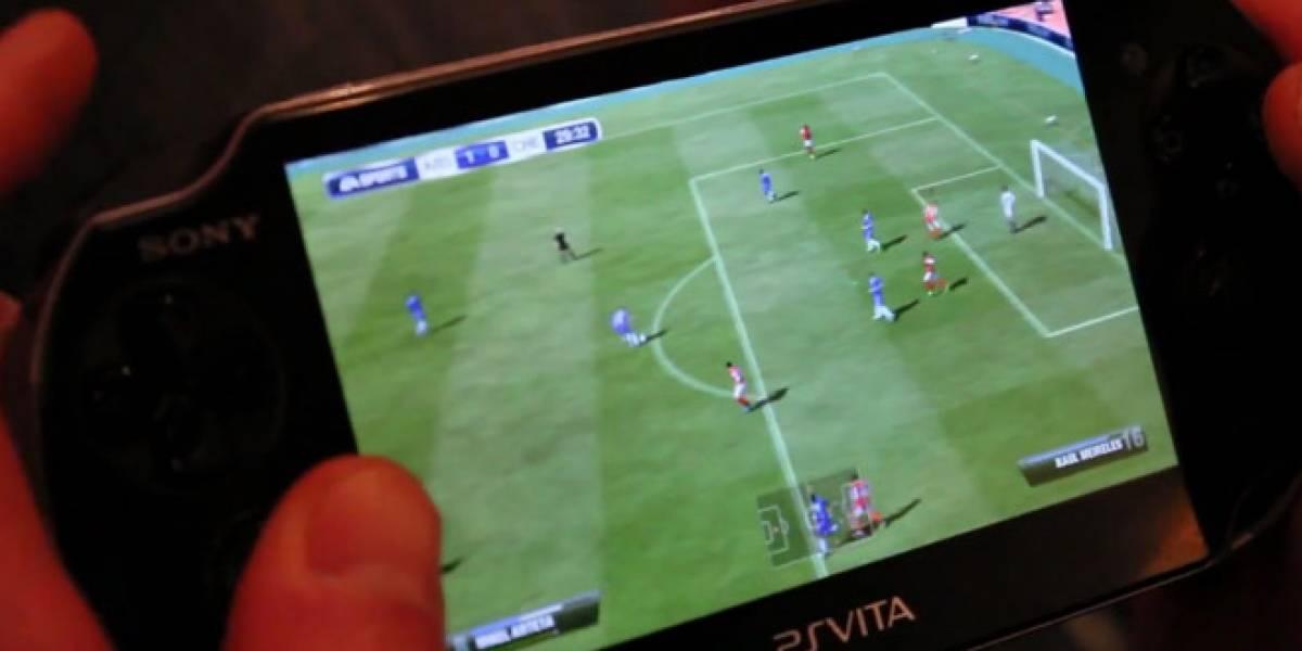 Se detalla el sistema de control de FIFA para PS Vita