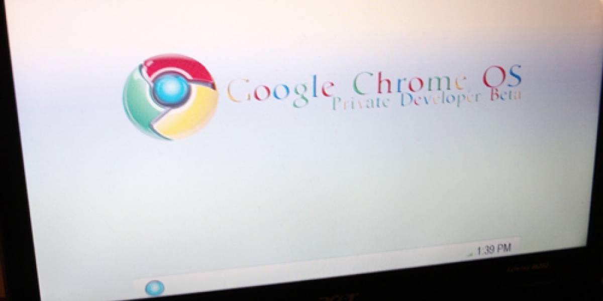 Las primeras imágenes de Google Chrome OS