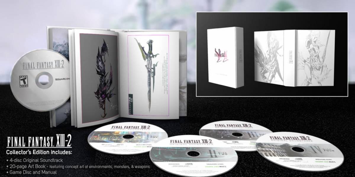 Demo de Final Fantasy XIII-2 llega la próxima semana a PlayStation 3 y Xbox 360