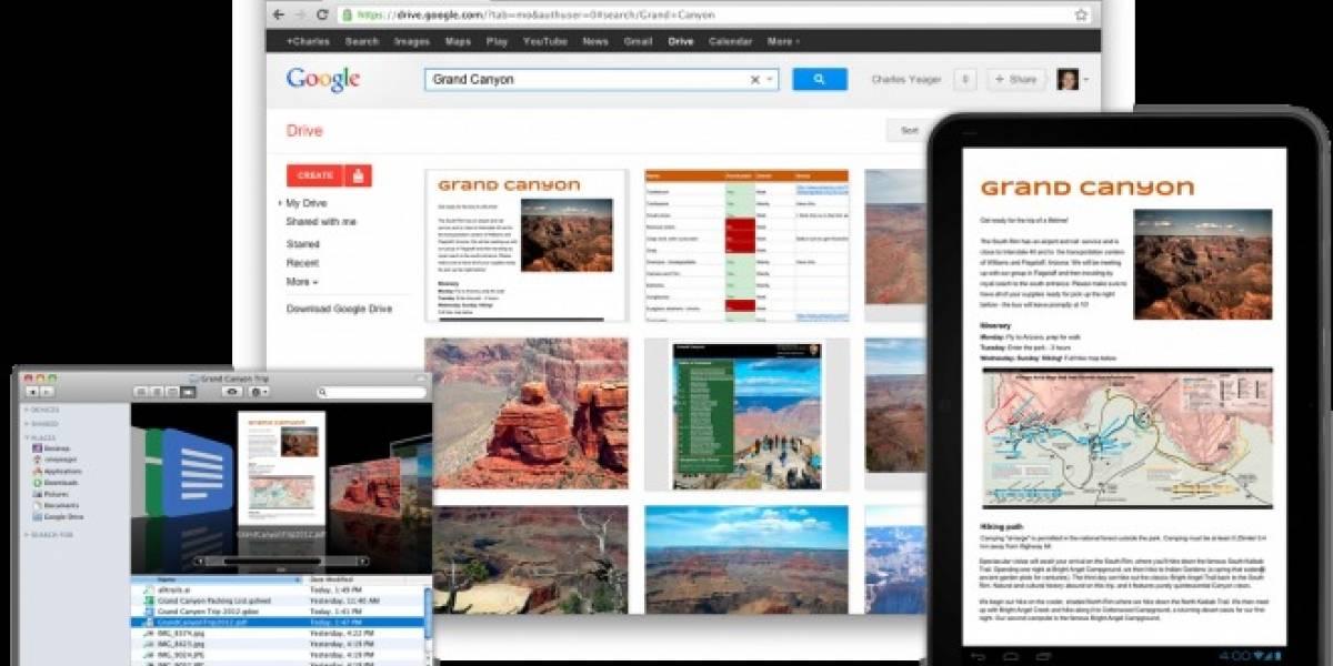Google Drive es oficial: 5 GB gratis para almacenar todo tipo de archivos