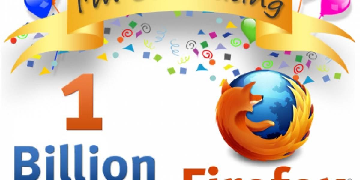Firefox se prepara para celebrar 1.000 millones de descargas
