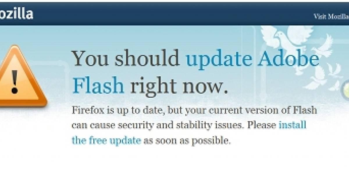 Firefox actualizará Adobe Flash y otros plugins