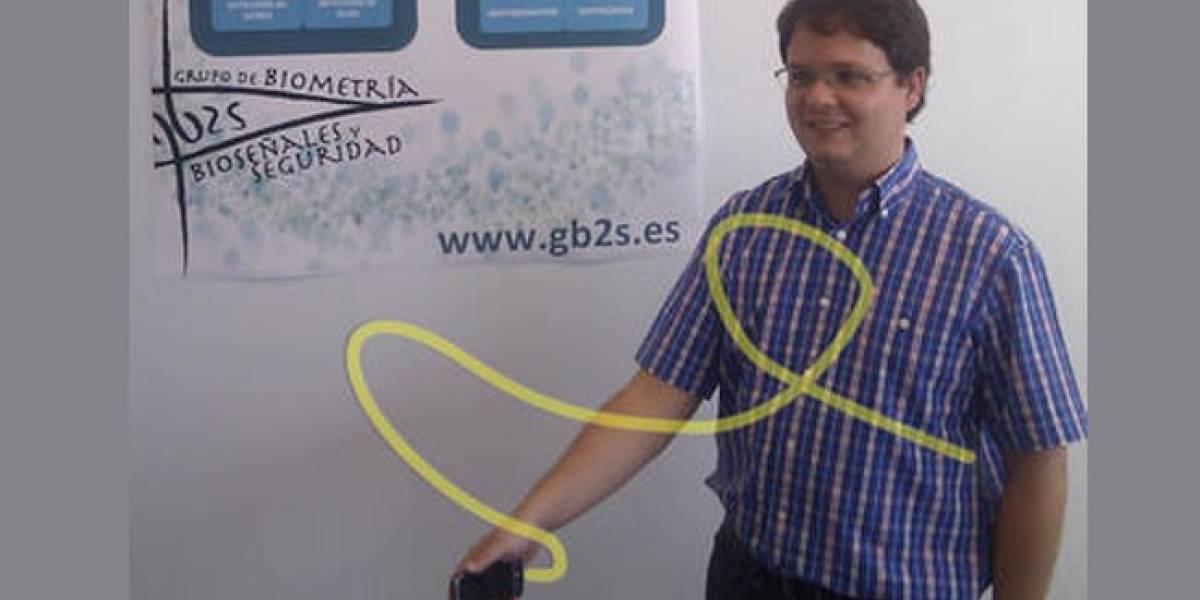 Firmar en el aire: Una nueva forma de identificación en móviles