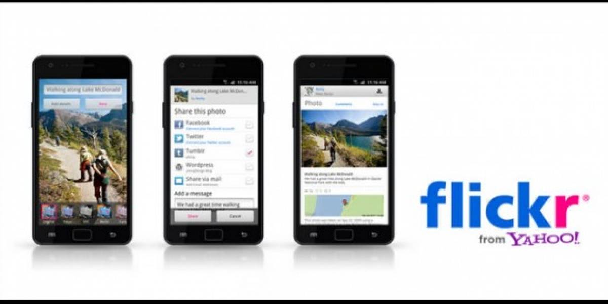 Flickr para Android recibe una importante actualización
