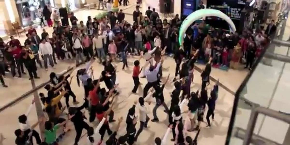India: El flashmob de Nokia por el Lumia 800