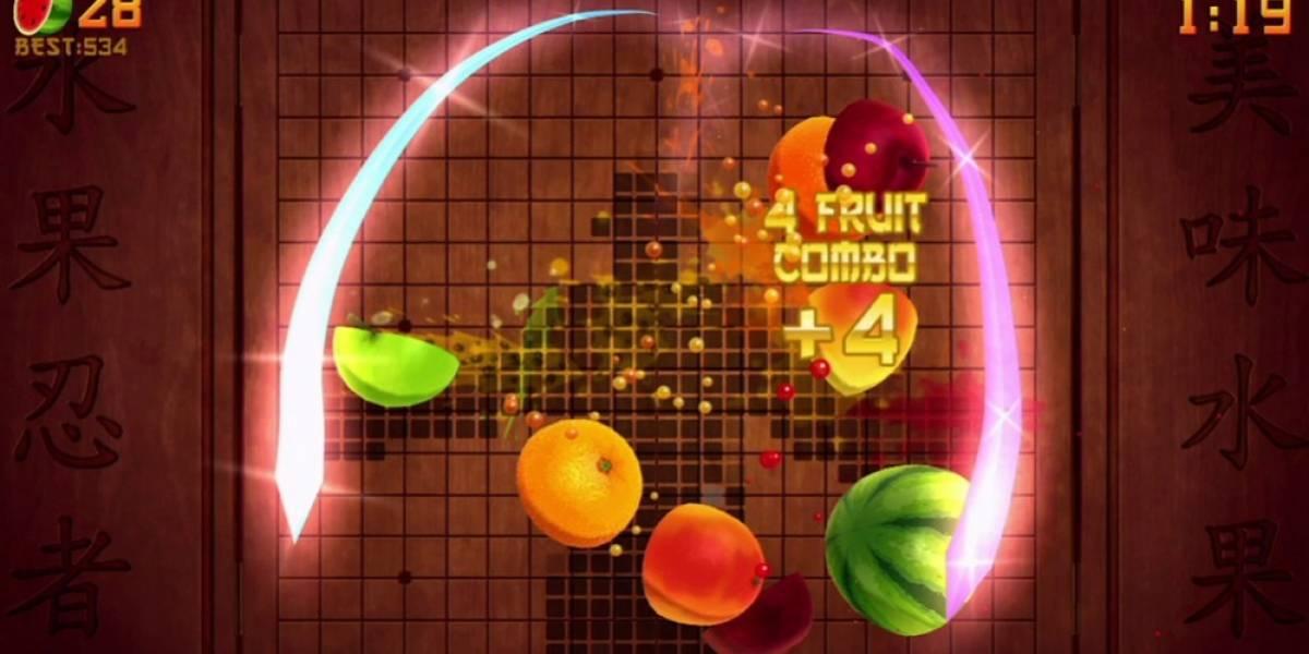 ¡Por fin! ¡Fruit Ninja llega a Kinect! ¬¬' [E3 2011]