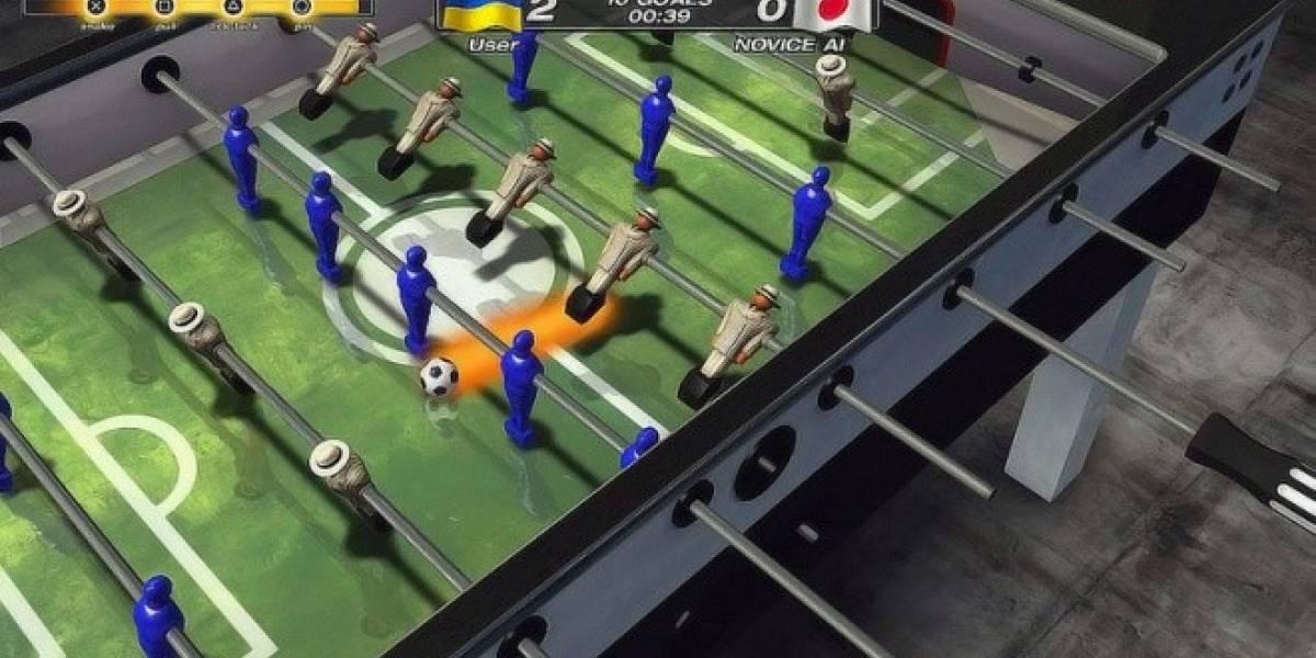 Foosball 2012 se anuncia con juego cruzado entre PS3 y Vita