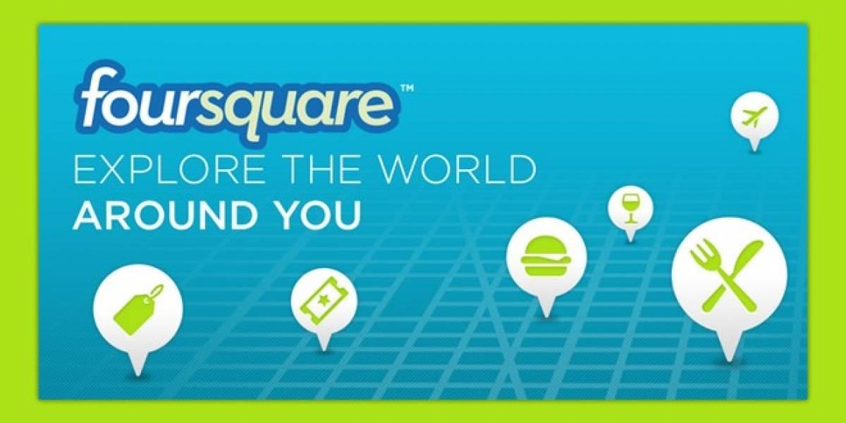 Chile: Hoy se entregará el primer badge comercial de Foursquare en el país