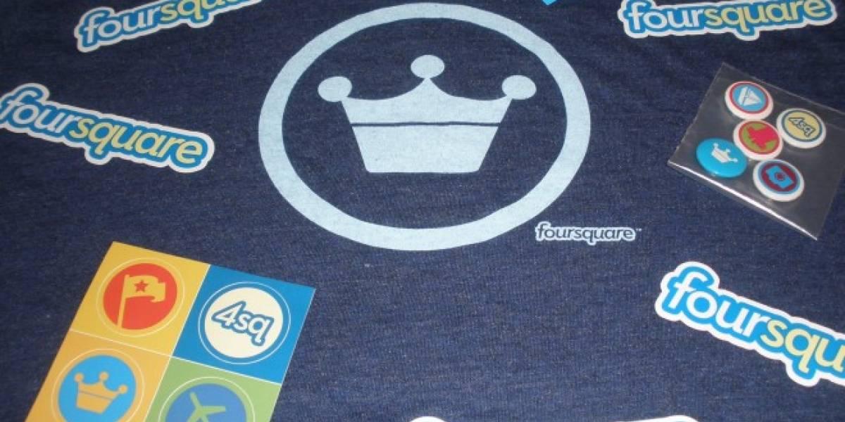 Celebra el día de Foursquare y gana una insignia por ello