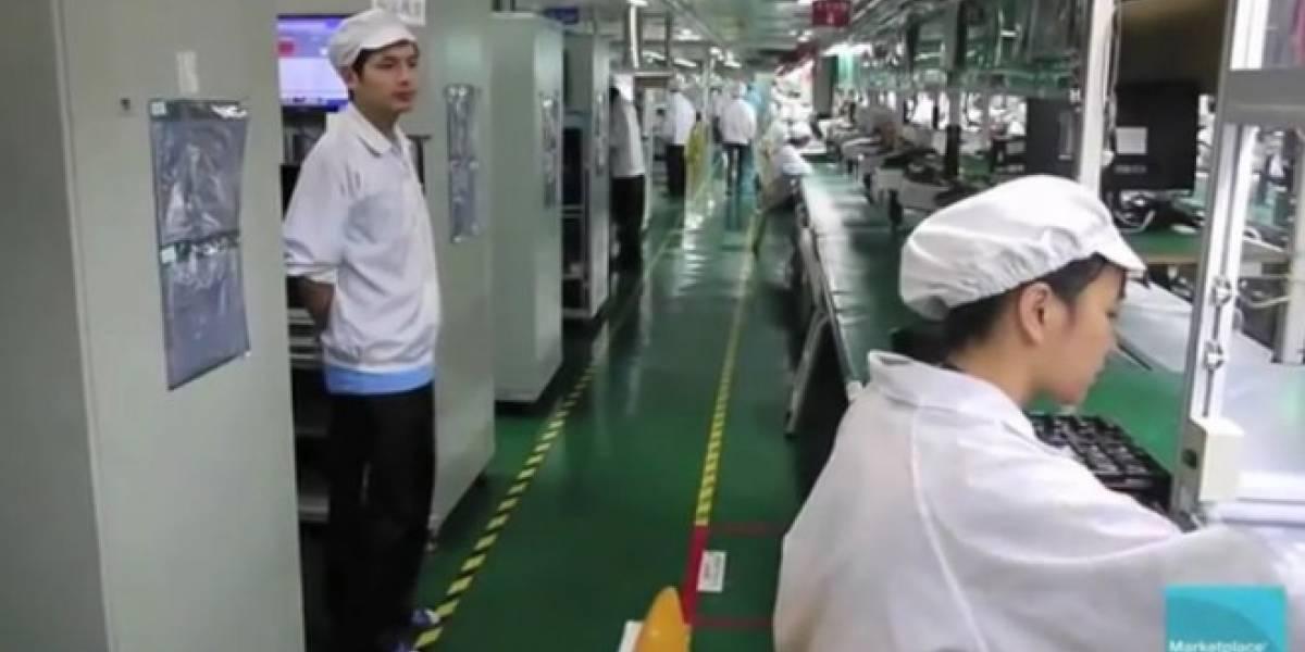 Nuevo video ofrece otra perspectiva de las condiciones de trabajo en Foxconn