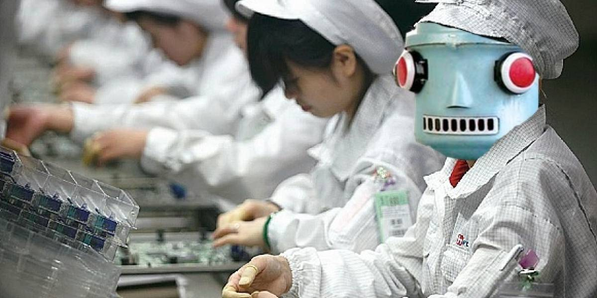 Foxconn reemplazará empleados con un millón de robots sin tendencias suicidas