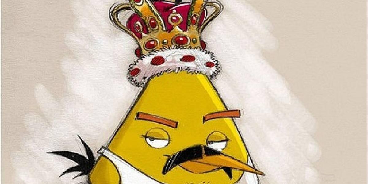 Freddie Mercury vuelve como un pájaro enojado andando en bicicleta