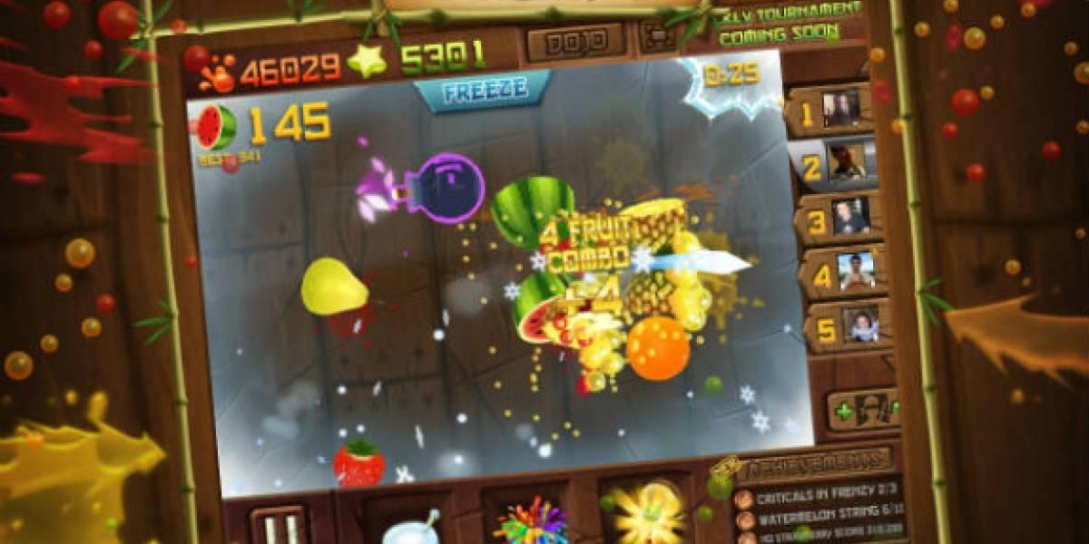Ahora sí, y para todos: Fruit Ninja Frenzy llega a Facebook