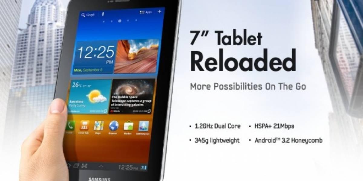 Galaxy Tab 7.0 Plus ve la luz en Amazon