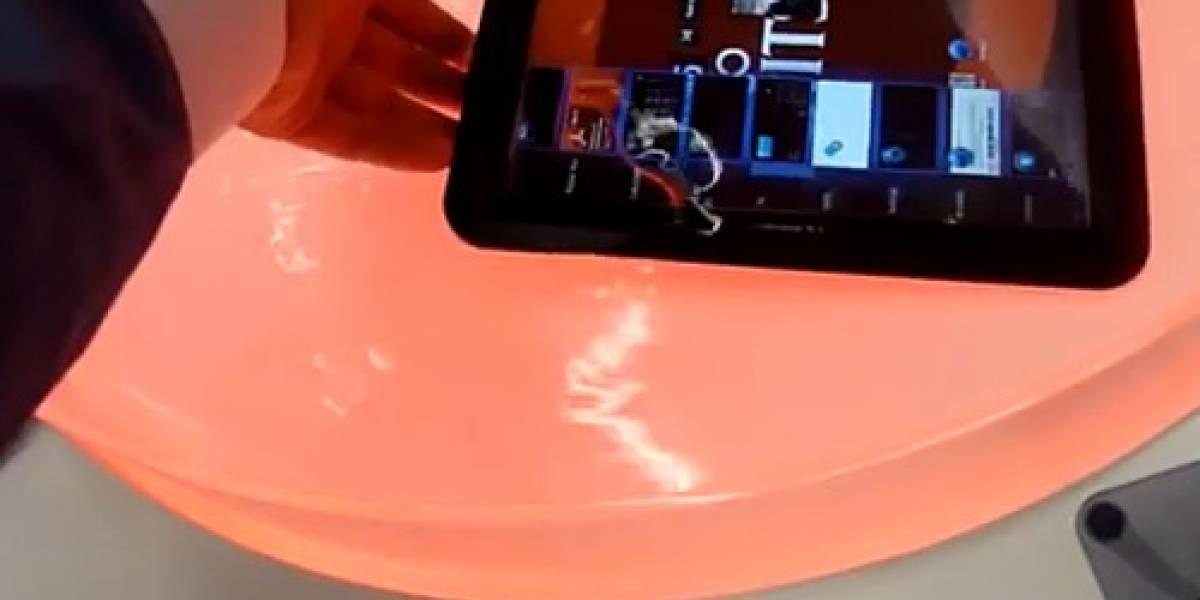 Fujitsu presenta tableta a prueba de agua
