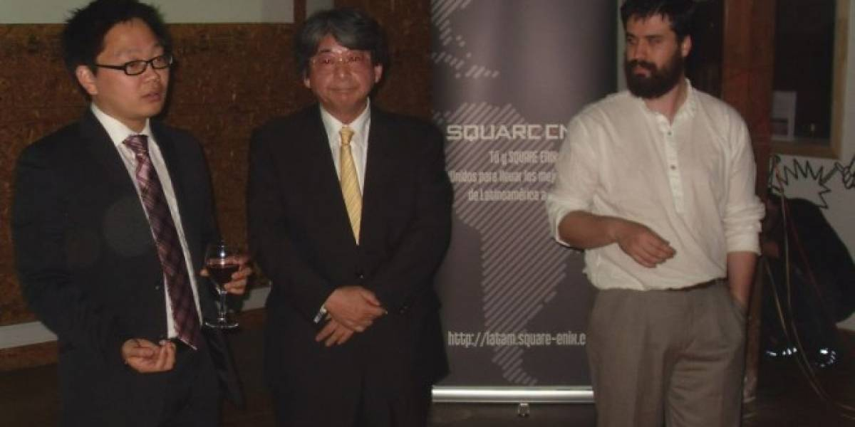 Square Enix promociona el Latin America Game Contest en Chile