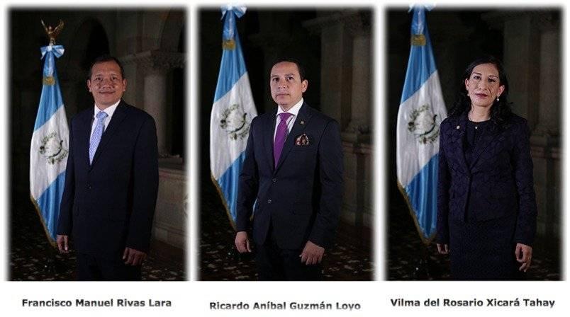 Ministro de Gobernación Francisco Rivas y viceministros Ricardo Guzmán y Vilma Xicará renuncian
