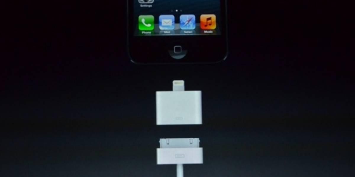 Definitivo: El iPhone 5 tiene un nuevo conector llamado Lightning