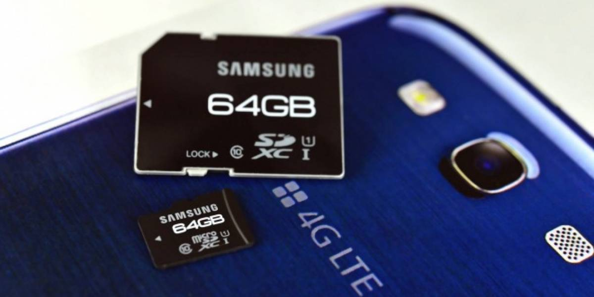 IFA 2012: Samsung presenta tarjetas SD ultra rápidas de 64 GB
