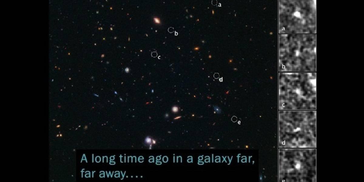 """Astrónomos descubrieron galaxias de """"El Gordo"""" y las verdaderas galaxias muy, muy lejanas"""