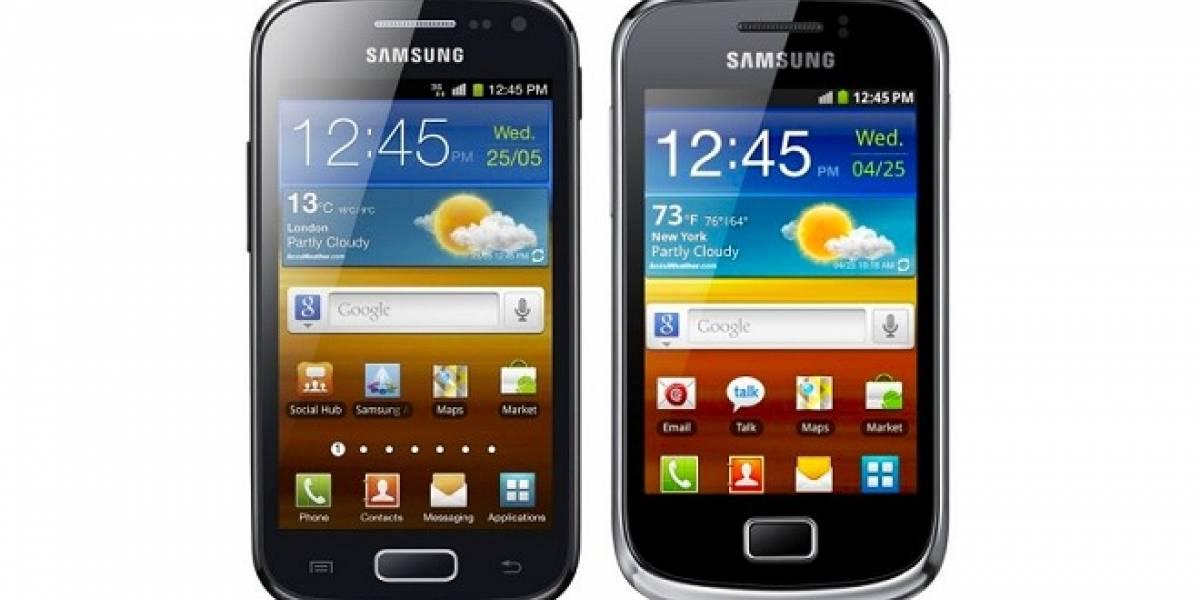 Samsung anuncia oficialmente el Galaxy Mini 2 y el Galaxy Ace 2