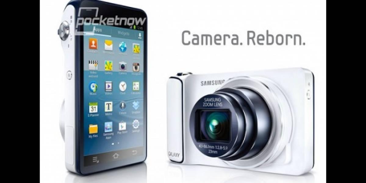 IFA 2012: Se filtran detalles del Samsung Galaxy Camera