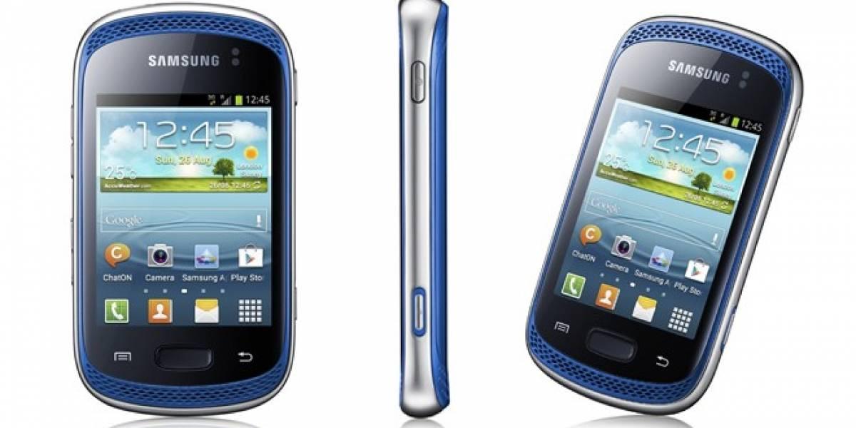 Samsung lanzó oficialmente el Galaxy Music, un celular diseñado para escuchar música