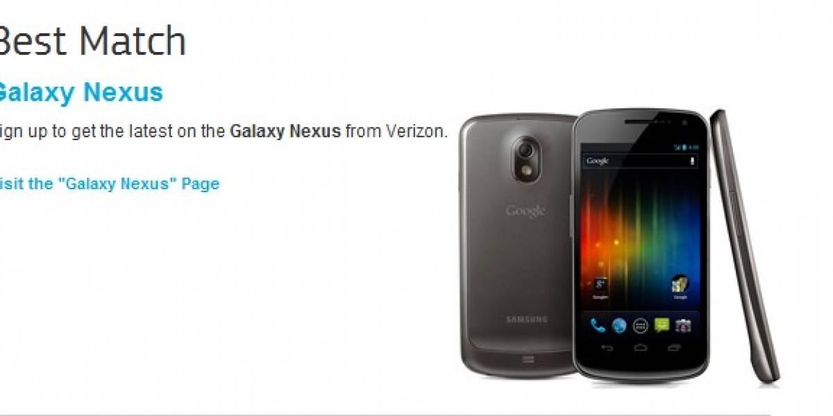 Breaking News: Aparece el Galaxy Nexus en sitio web de Samsung