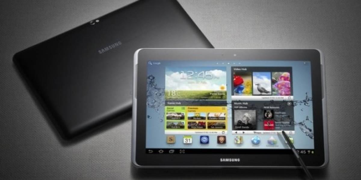 Manual de usuario del Galaxy Note 10.1 filtra algunas características técnicas