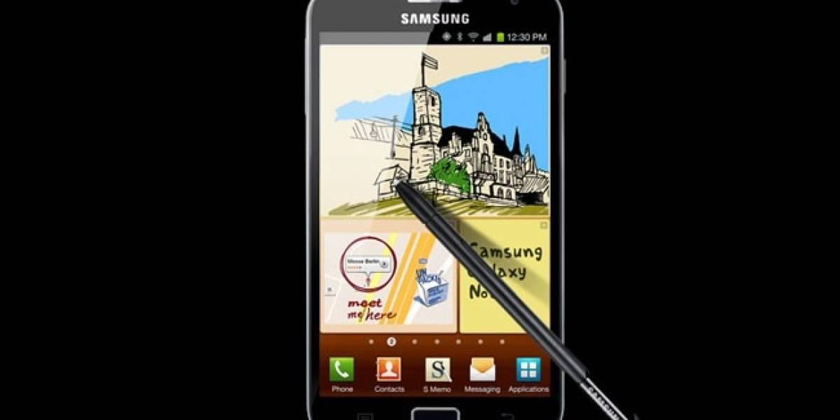 Samsung presenta su Galaxy Note en España