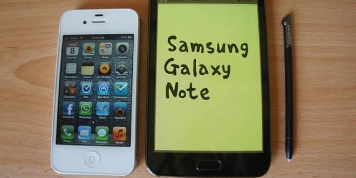 Mientras tanto en Corea del Sur... el Samsung Galaxy Note llega a 2 millones de ventas