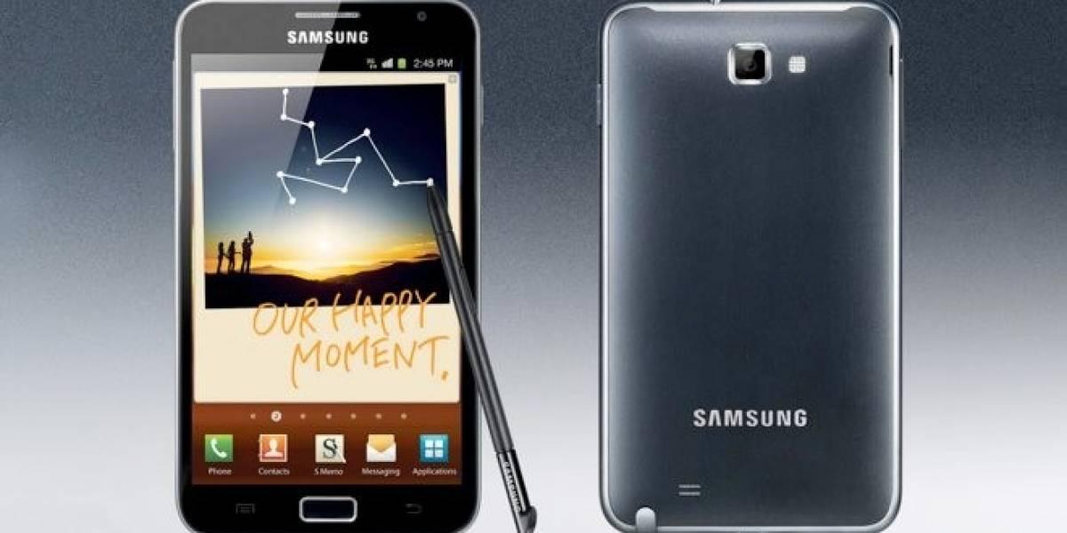 Brasil: Samsung lanza el Galaxy Note