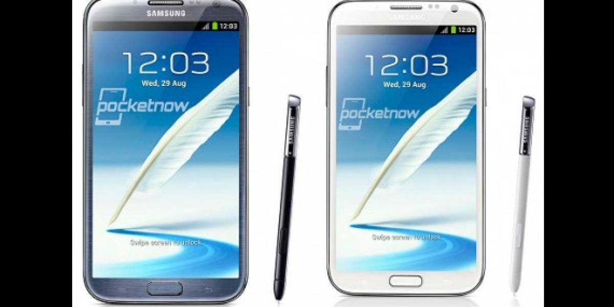 IFA 2012: Filtración revela al Samsung Galaxy Note II