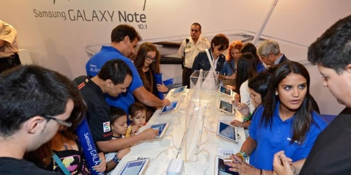 El Galaxy Note 10.1 se vende en España desde 529 euros