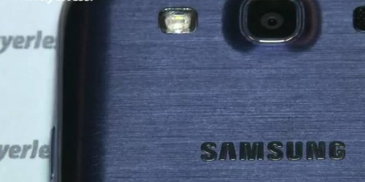Samsung confirma el retraso del Galaxy S III de color azul