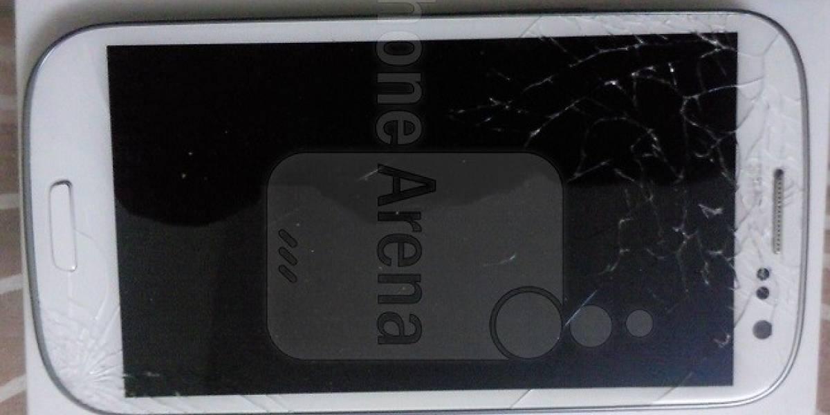 El Gorilla Glass 2 de un Galaxy S III también se rompe